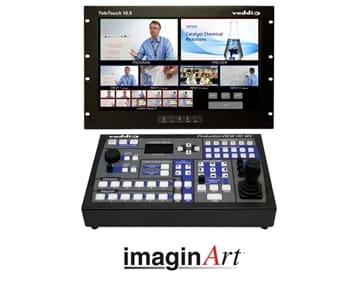 imaginArt presenta Vaddio ProductionVIEW HD MV: La consola de control de cámara con Multivisor, salidas digitales y pantalla táctil
