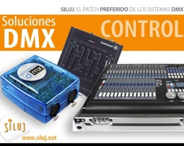 sistemas DMX SILUJ iluminación el patch preferido
