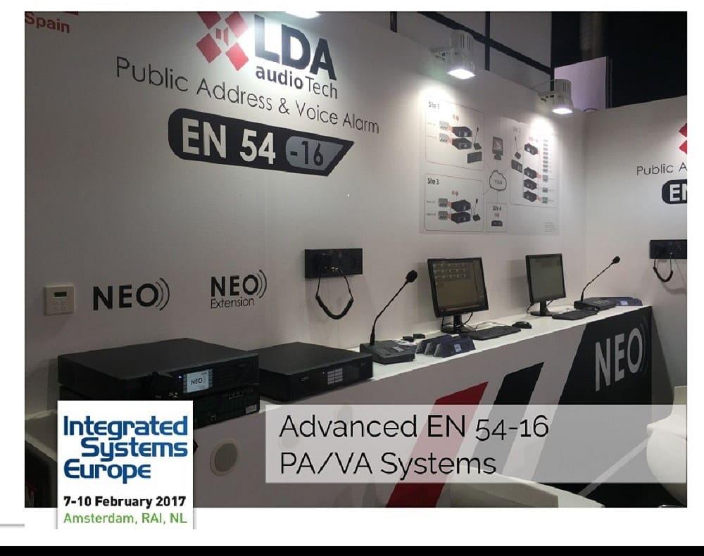 LDA presente en Integrated Systems Europe (ISE)