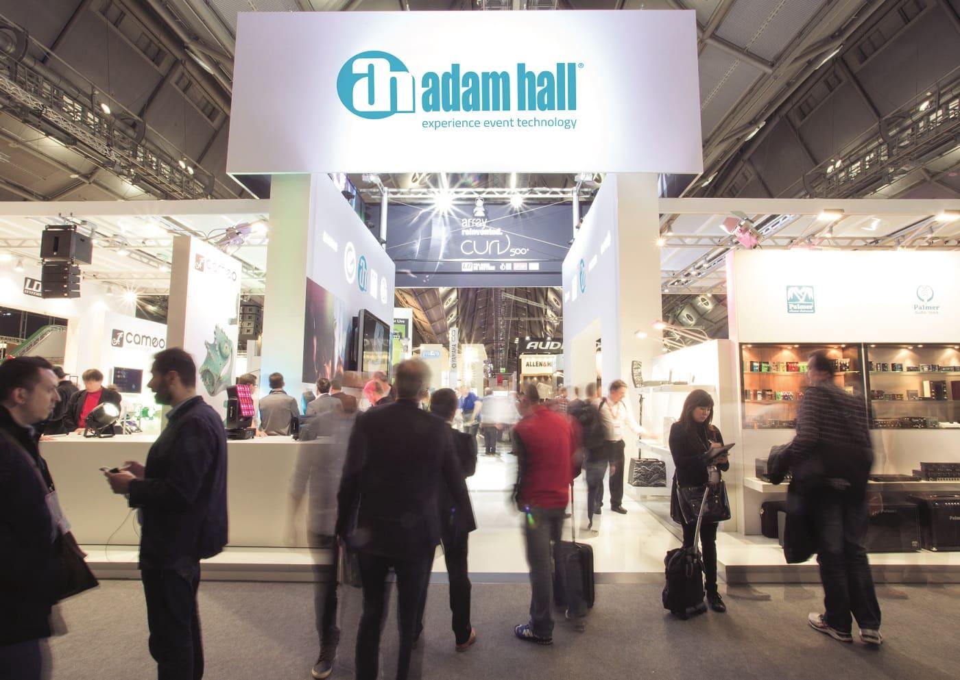 Adam Hall Group presenta primicias mundiales  en la Prolight + Sound