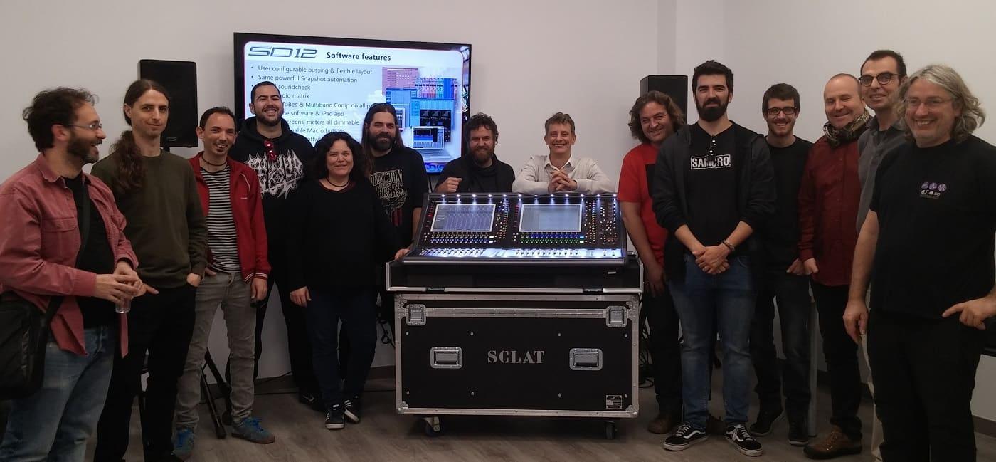 DiGiCo presenta en Sclat! su nueva consola SD12