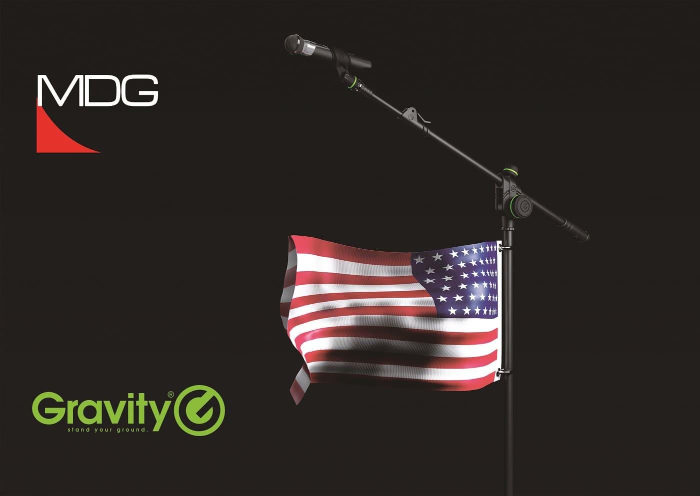 soportes Gravity, la nueva marca de soportes de alta calidad de Adam Hall Group