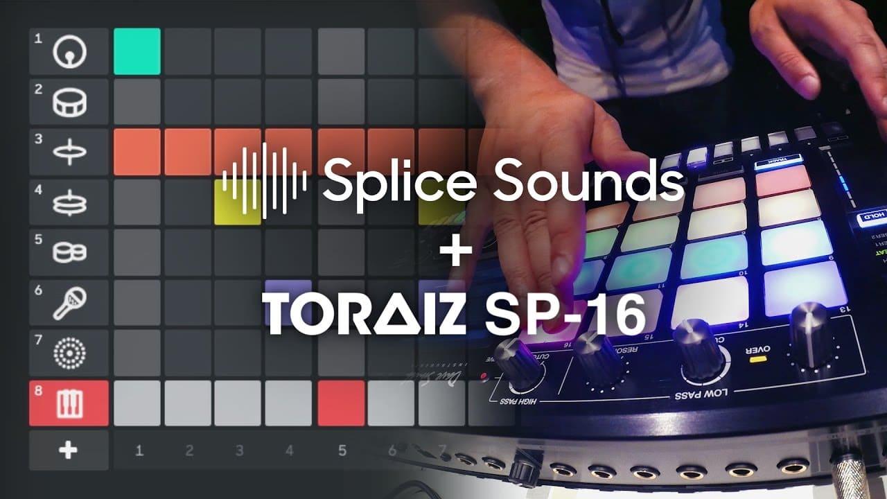 Pioneer DJ y Splice colaboran para que el sampler TORAIZ SP-16 sea el primer hardware que conecta a los usuarios a un workflow para la creación de música en la nube