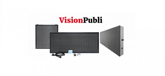 VisionPubli se estrena en el renting ofreciendo rótulos electrónicos a precios muy asequibles