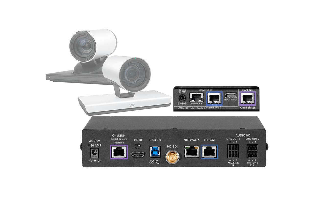 imaginArt presenta soluciones de videoconferencia más flexibles con los kits OneLINK Codec de Vaddio