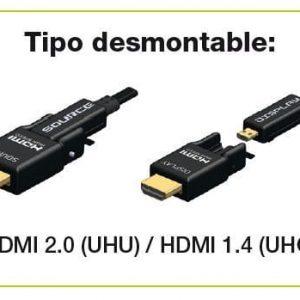 Nuevo Hdmi premium AOC ligero y flexible de Percon