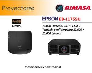 -Nuevos proyectores audiovisuales y pantallas de proyección audiovisual en DIMASA