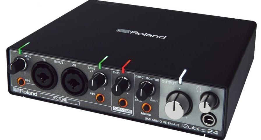 interface de audio