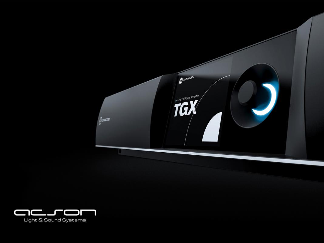 Amplificadores de potencia TGX de Dynacord, nuevo producto insignia
