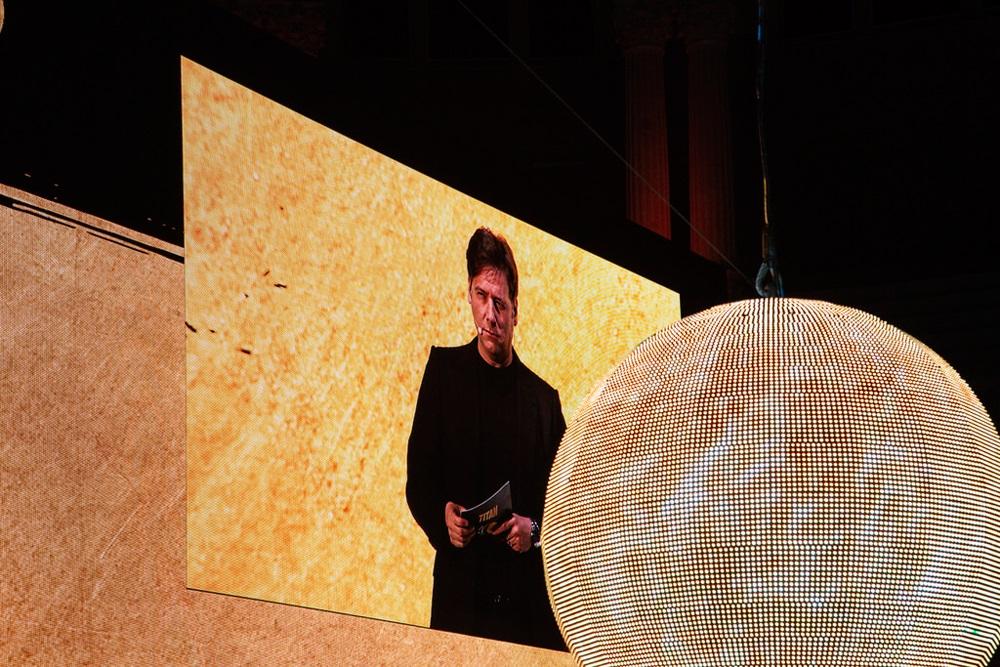 Pantalla de LEDs de gran formato en el 100 aniversario de Titanlux