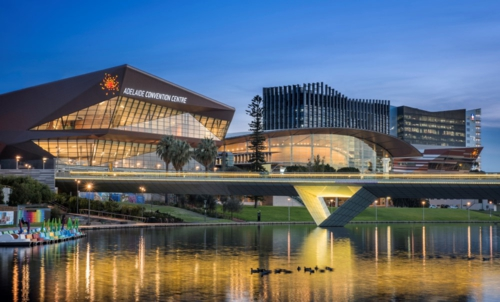 Christie Spyder X80 en el Adelaide Convention Centre
