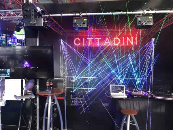Fabricante de equipos laser para espectáculos, CITTADINI