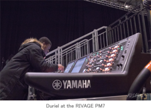 Sistema digital RIVAGE PM7 y PM10 de Yamaha
