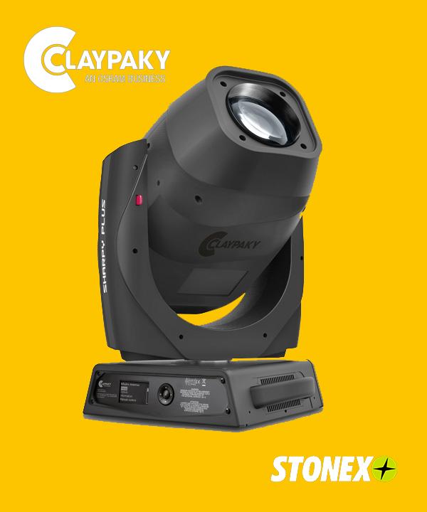 Nueva cabeza móvil Sharpy Plus de Claypaky funciona como spot y beam