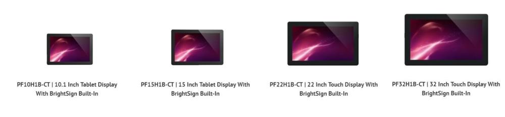 pantallas LCD AVNU con BrightSign 2