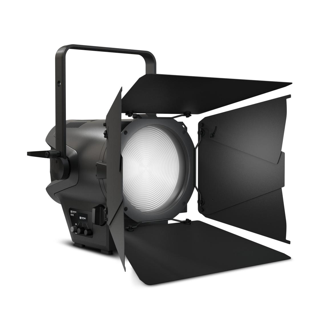 Foco profesional Fresnel con LED RGBW Cameo F2 FC de Adam Hall