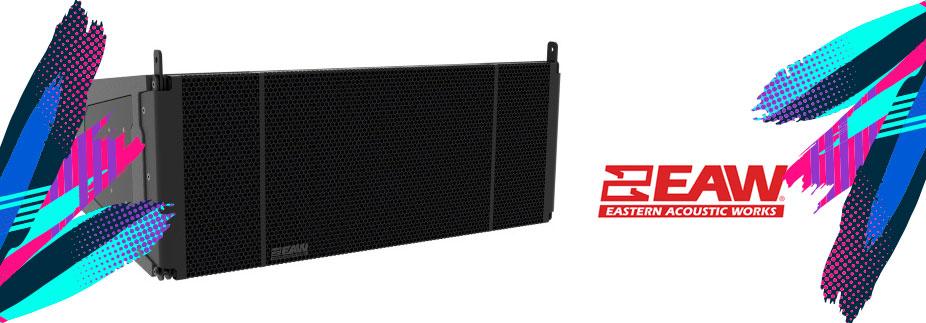 altavoz line array para la instalación de sonido profesional