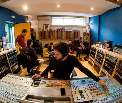 estudios de grabación de sonido SPUTNIK