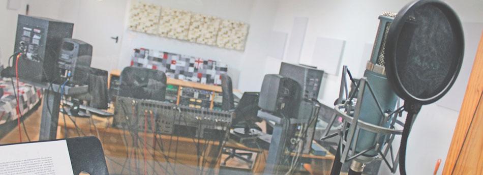 estudios de grabación de sonido
