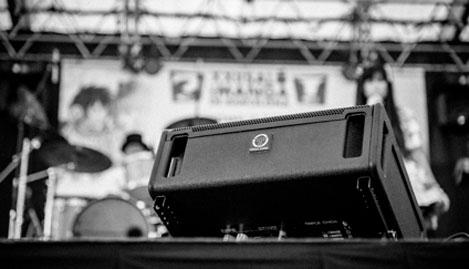 sistema de sonido profesional Serie EXP de Triple Onda