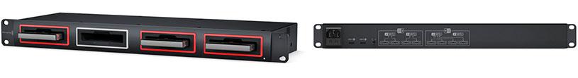 Blackmagic MultiDock10G Dispositivo USB-C modular