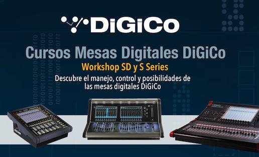 Curso Mesas Digitales DiGiCo: Practicando con serie SD