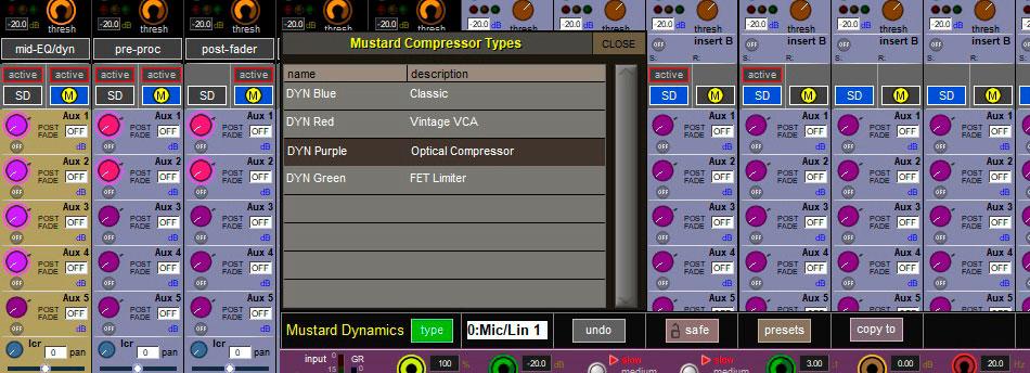 software para consola sonido digico