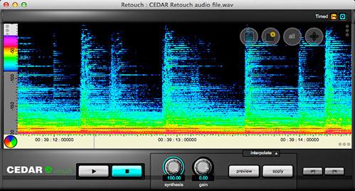 plugins de CEDAR Audio