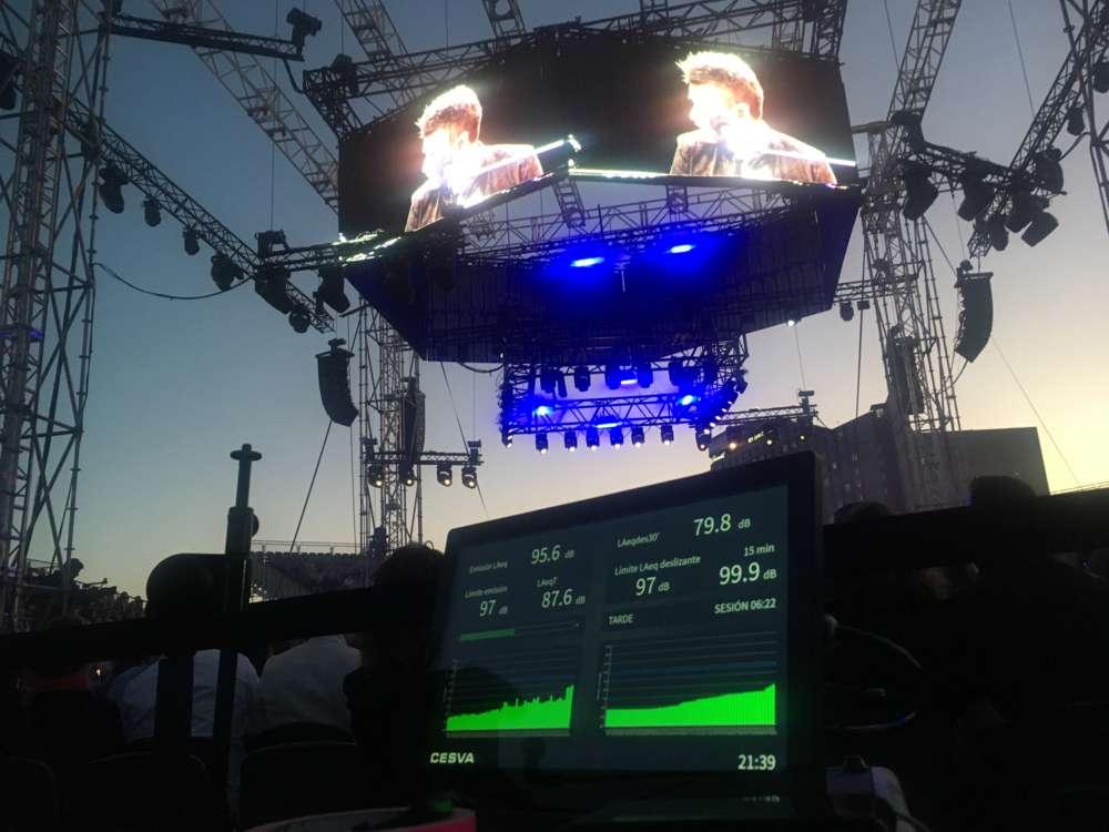 El Limitador acústico LF010 de CESVA en el Polo Music Festival 2019