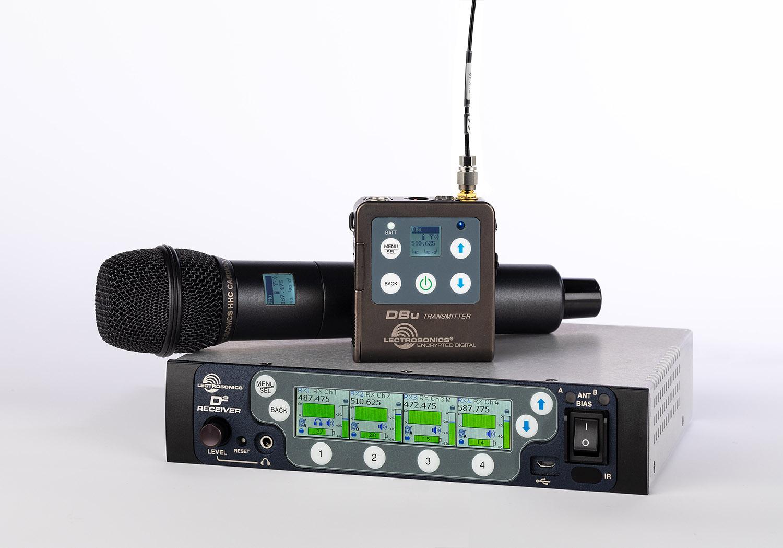 Sistema de microfonía digital inalámbrica de Lectrosonics