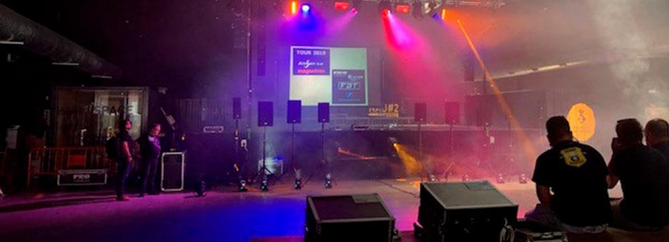 empresas de sonido e iluminación profesional