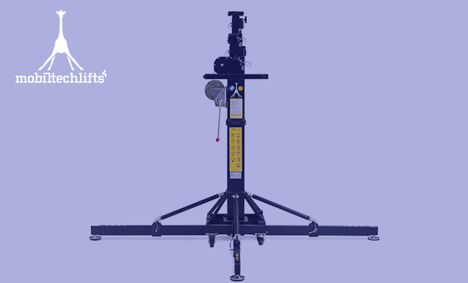 Torre elevadora Mobiltechlifts ML2 fuerza elevación ….