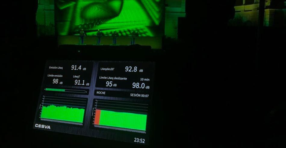 limitador de sonido LF010 de CESVA