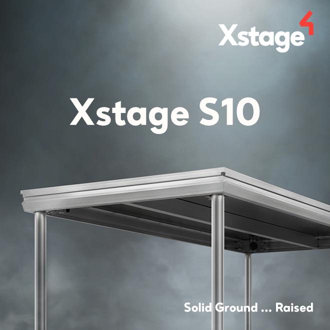Plataforma de escenario Xstage S10, ahora con más prestaciones ….