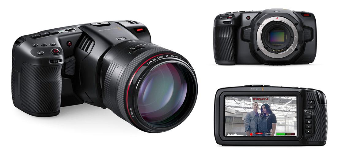 cámara cinematográfica digital de mano