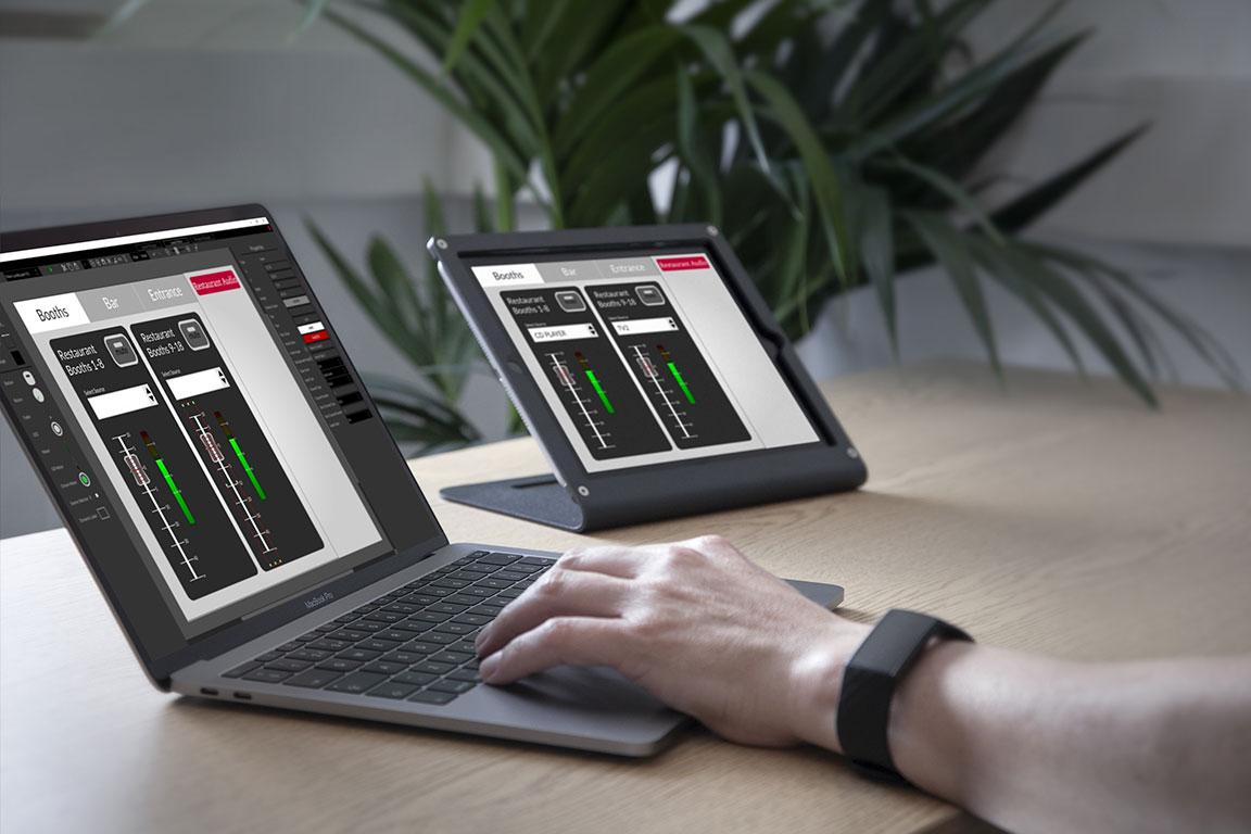 app Custom Control para dLive