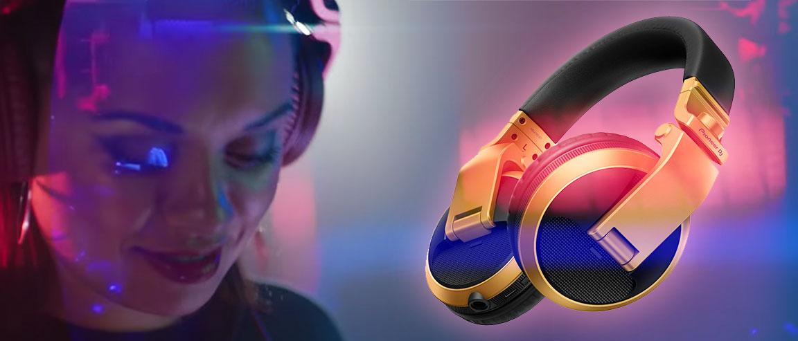 Auriculares para DJ tipo diadema HDJ-X5BT