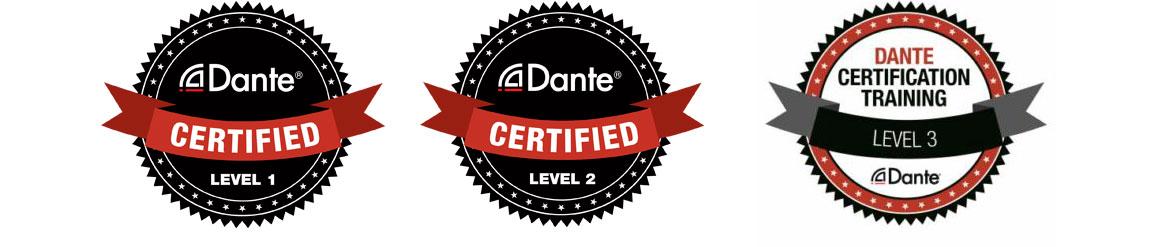 certificación oficial de Audinate