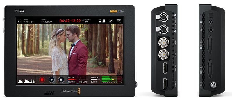 Video Assist 12G HDR de Blackmagic