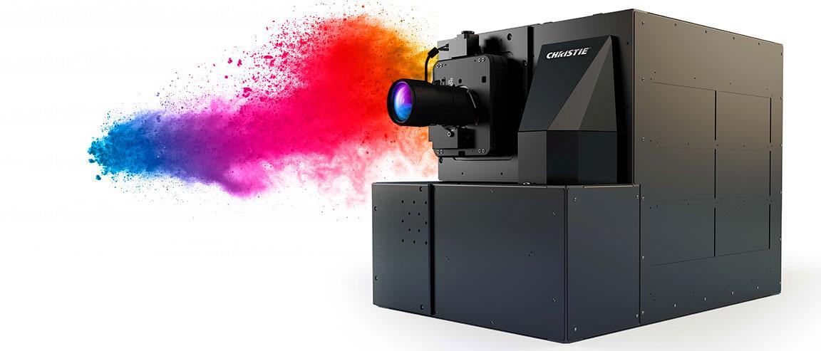 proyector 4K de láser puro RGB