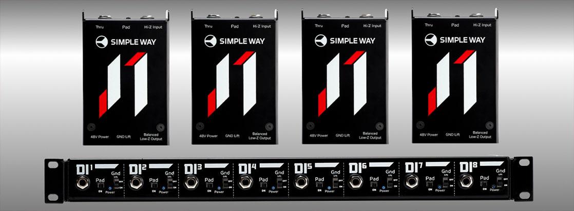 Simple Way J1 DI Box