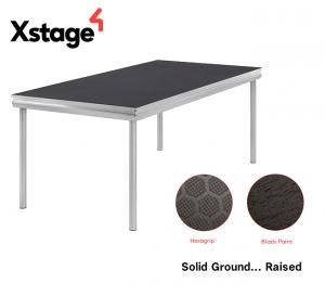 Tarimas de escenario Xstage S10 hexagrip