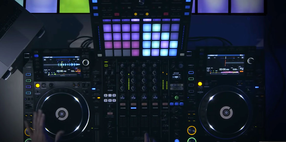 controlador para DJ DDJ-XP2