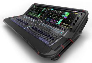 mezclador digital Avantis de 96 kHz