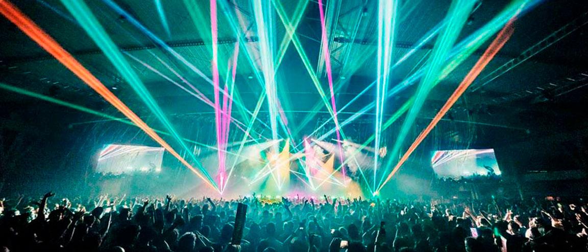 show laser de iluminación profesional