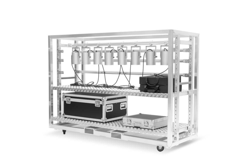Carros de transporte de iluminación profesional MILOS Meat Rack
