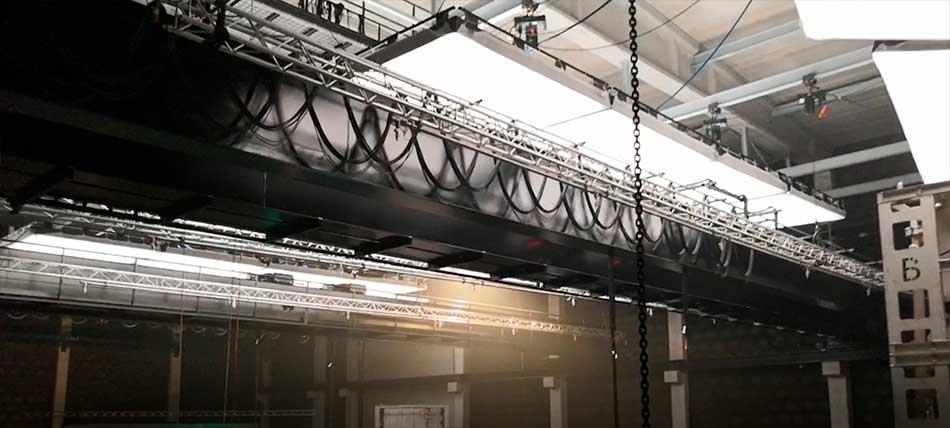 Polipastos eléctricos con cable de Stagemaker