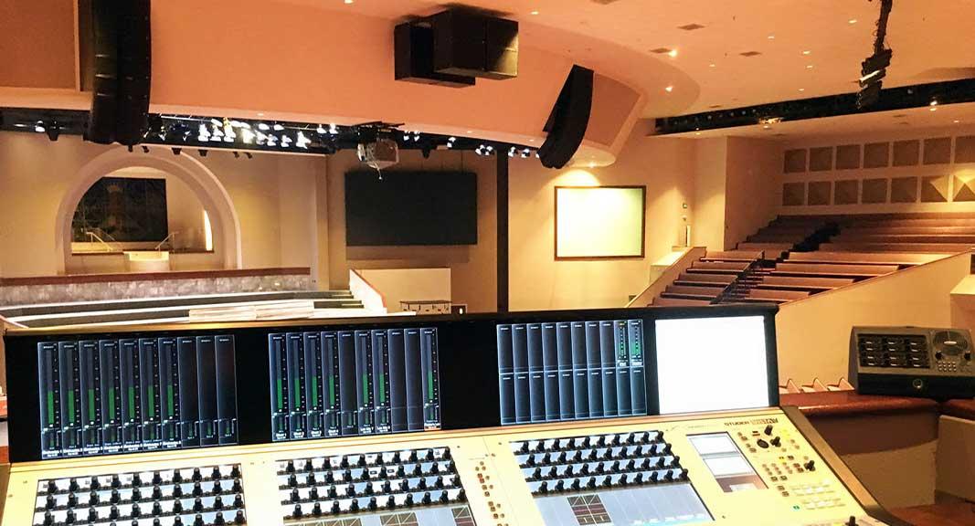 sistemas de sonido profesional Clair Brothers