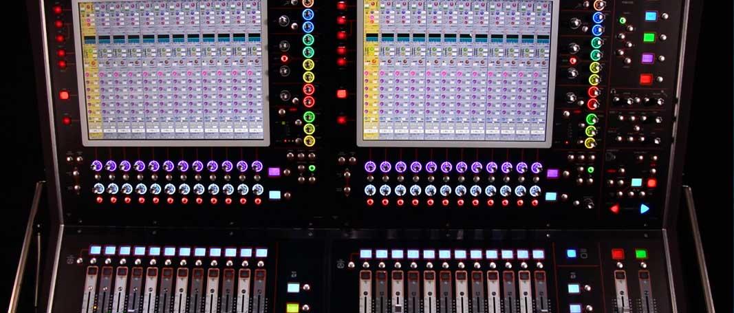 WEBINARS gratuitos de la mesa de sonido DiGiCo