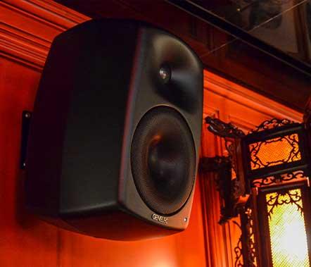 Instalación de sistemas de sonido Genelec